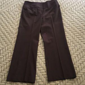 Wide leg / High Waist Chocolate Brown Pants